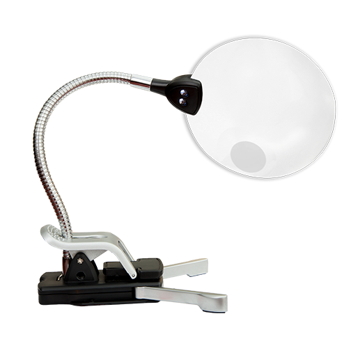 Lighted Flex Magnifier - MODEL: MAG02