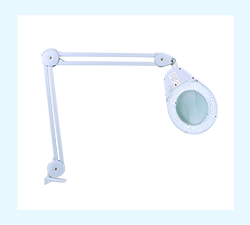 LED Lighted Clamp-on Lamp Magnifier - MODEL: MAG10